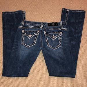 Miss Me mid-rise slim boot cut jeans
